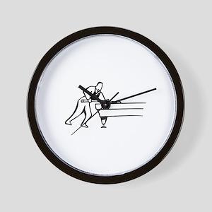 Pool Game Wall Clock
