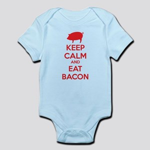 Keep calm and eat bacon Infant Bodysuit
