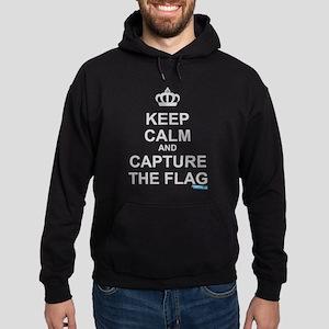 Keep Calm and Capture The Flag Hoodie (dark)