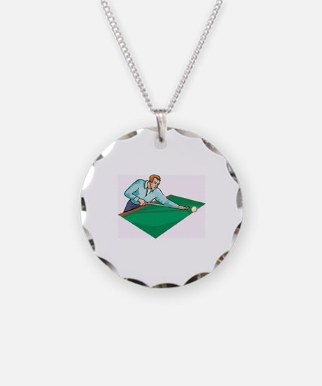 Pool Game Necklace
