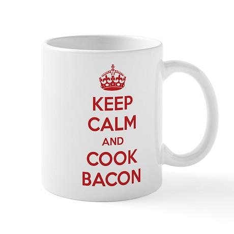 Keep calm and cook bacon Mug