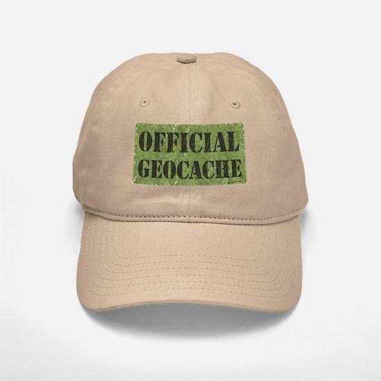Official Geocache Baseball Baseball Cap