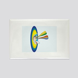 Darts Rectangle Magnet