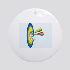 Darts Ornament (Round)