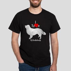 Kooikerhondje Black T-Shirt