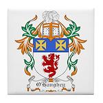 O'Haughey Coat of Arms Tile Coaster