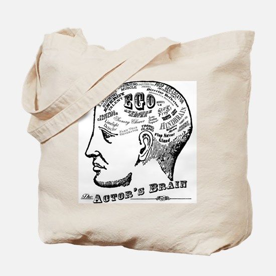 The Actor's Brain Tote Bag