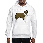 Australian Shepherd Hooded Sweatshirt