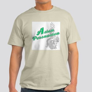 Asian Persuasion Ash Grey T-Shirt
