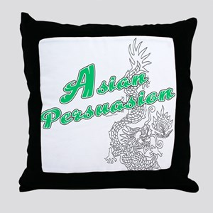 Asian Persuasion Throw Pillow