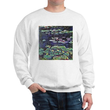 Claude Monet Water Lilies Sweatshirt