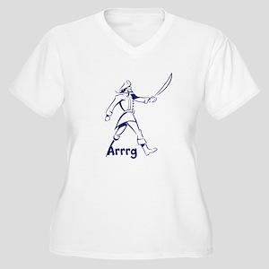 Arrrg Women's Plus Size V-Neck T-Shirt