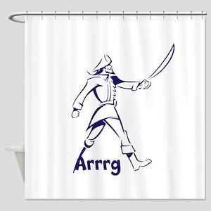 Arrrg Shower Curtain