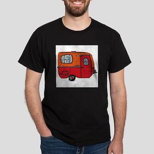 Cute orange boler camper Dark T-Shirt
