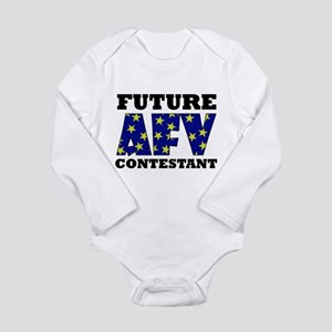 Future AFV Contestant LT Long Sleeve Infant Bodysu