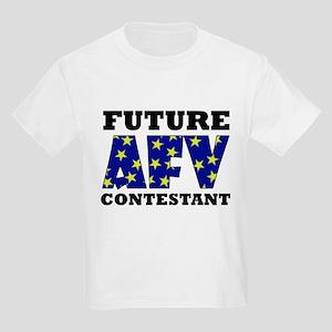 Future AFV Contestant LT Kids Light T-Shirt