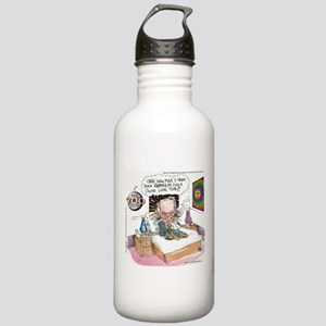 Pat Robertson Marijuana Stainless Water Bottle 1.0