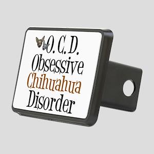 Obsessive Chihuahua Disorder Rectangular Hitch Cov