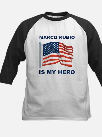 marco rubio is my hero.png Kids Baseball Jersey