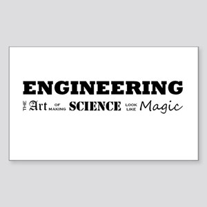 Engineering Definition Sticker (Rectangle)