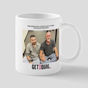 Major and Beau Mug