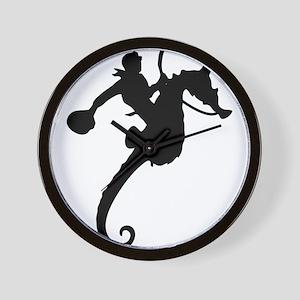 Seahorse Rodeo Wall Clock