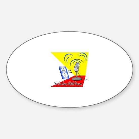 Cute Wdw Sticker (Oval)