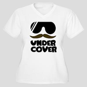 Under Cover Women's Plus Size V-Neck T-Shirt