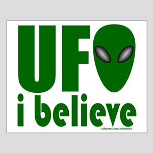 UFO I BELIEVE Small Poster