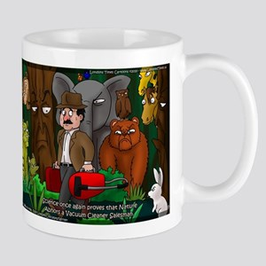 Nature Abhors This Cartoon Mug