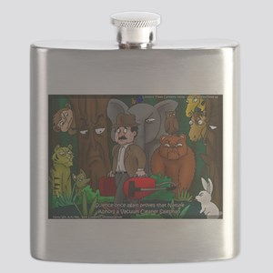 Nature Abhors This Cartoon Flask