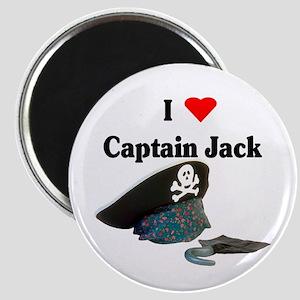 I Heart Captain Jack Magnet