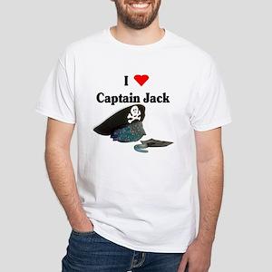 I Heart Captain Jack White T-Shirt