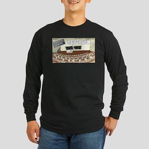 Sperm 101 Long Sleeve Dark T-Shirt
