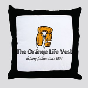 Water sports humor Throw Pillow
