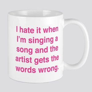 Singing a Song Mug