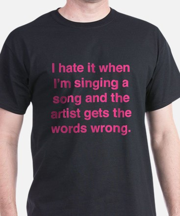 Singing a Song T-Shirt