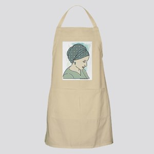 Veiled Lady 1 Apron