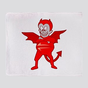 Devil Throw Blanket