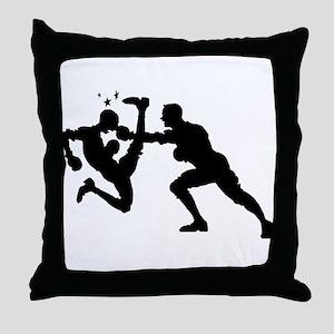 Boxing #2 - Throw Pillow