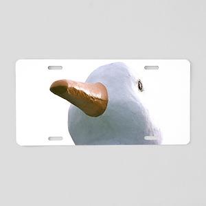The Hamptons: Big Duck Aluminum License Plate