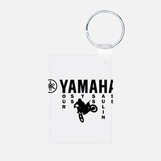 Yamaha Black Keychains