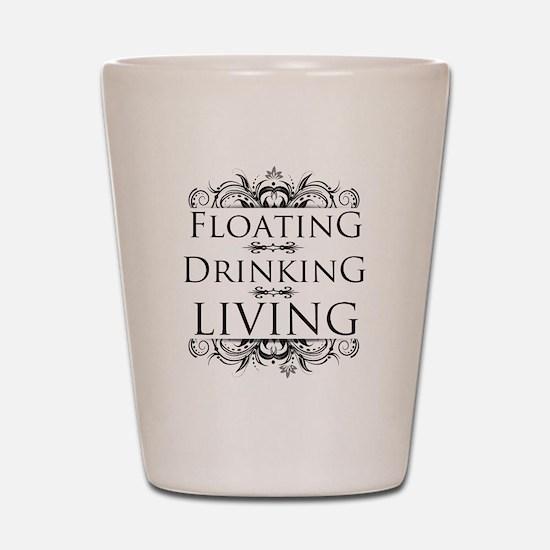 Floating Drinking Living Shot Glass