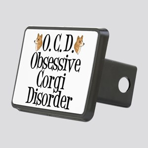 Corgi Obsessed Rectangular Hitch Cover