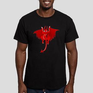 Devil Men's Fitted T-Shirt (dark)