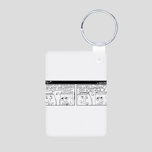 Bond Trivia Aluminum Photo Keychain