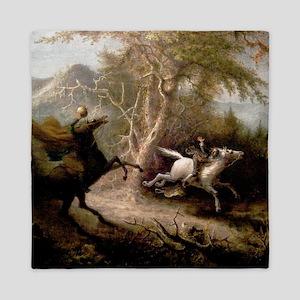Sleepy Hollow Headless Horseman chasing Ichabod Cr