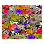 Flower Bed Home Decor King Duvet