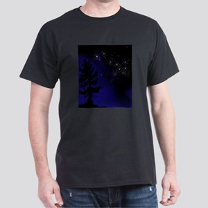 Step Up To Seven Stars Tai Chi T-Shirt Dark T-Shir