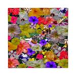 Flower Bed Home Decor Queen Duvet